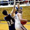 SECOND TEAM<br /> John Goeckner<br /> St. Anthony <br /> Senior forward <br /> 2013-2014 STATISTICS <br /> 13.4 ppg, 5.1 rpg, 48% FG <br /> AWARDS/HONORS<br /> All-Vandalia Tournament, All-NTC Tournament, All-NTC first team