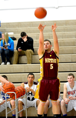 SECOND TEAM<br /> Tanner Traub<br /> Dieterich<br /> Senior guard<br /> 2013-2014 STATISTICS <br /> 12.9 ppg, 2.2 apg, 42% 3PFG <br /> AWARDS/HONORS <br /> All-NTC first team, All-Cumberland Thanksgiving Tournament, All-Dieterich Holiday Tournament