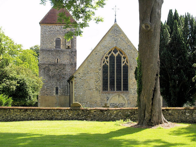 St Lawrence the Martyr Church, Godmersham