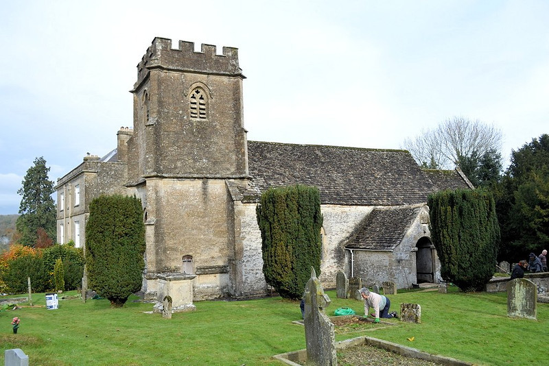 Holy Rood CHurch, Daglingworth