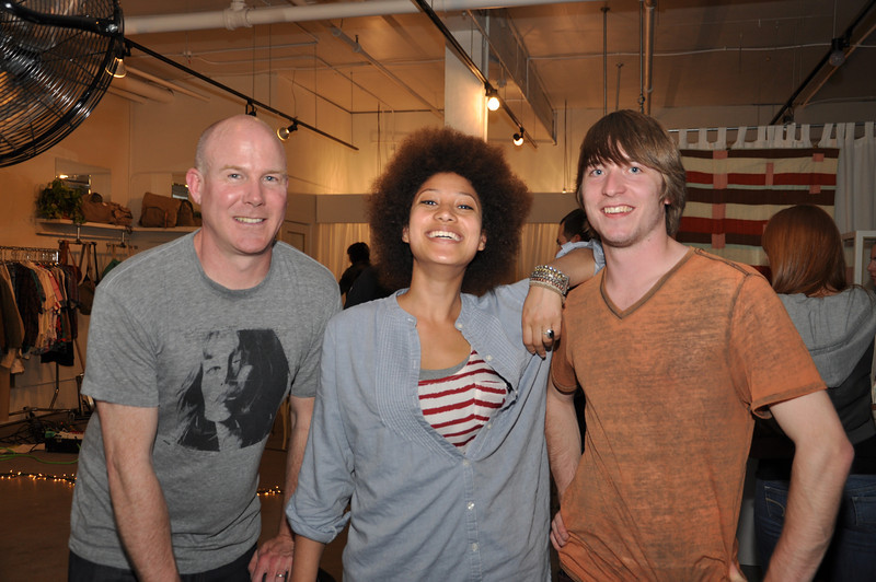 Sean Curley, Hannah and Logan after the show.