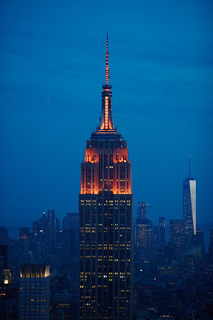 2016 Empire State Building Lighting