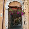 Arch in Colonnata.