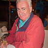 Mario while at dinner at Tre Torri- note the limoncello!