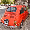 Fiat 500, about 45 years old.
