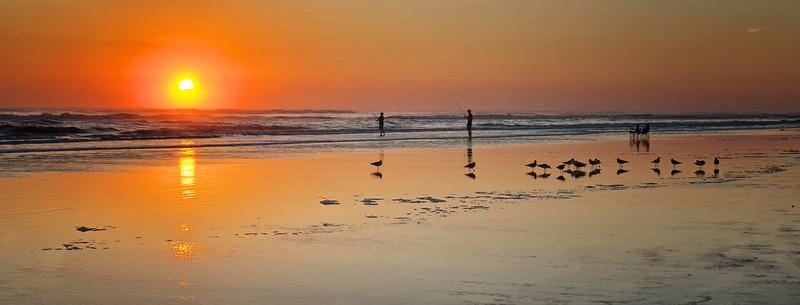 """Early Morning Ocean Fishing""  ETC3014 (NV6894)"