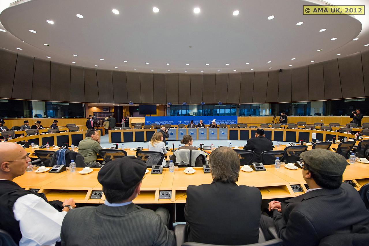 EU6_0987:  Press conference at the European Parliament