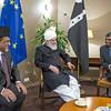 Relaxed moment with Hudhur Aqdas (atba)
