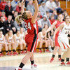 Don Knight / The Herald Bulletin<br /> Frankton faced Wapahani in sectional action at Shenandoah High School on Tuesday.