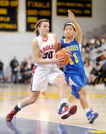 Frankton faced Muncie Burris in the semi-final of the sectional tournament at Shenandoah on Friday.