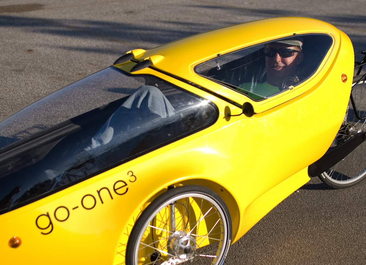Scott in the go-one (faired)