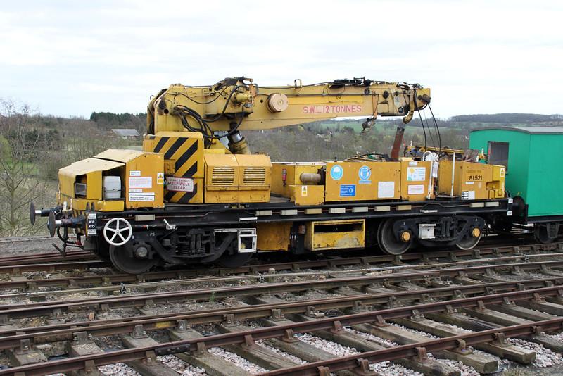 12t Diesel Crane DRP81521  31/03/12