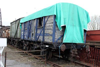 GER 10t 632518 East Anglian Railway Museum 31/03/12
