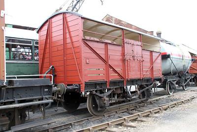 Cattle Van B892156 East Anglian Railway Museum 31/03/12