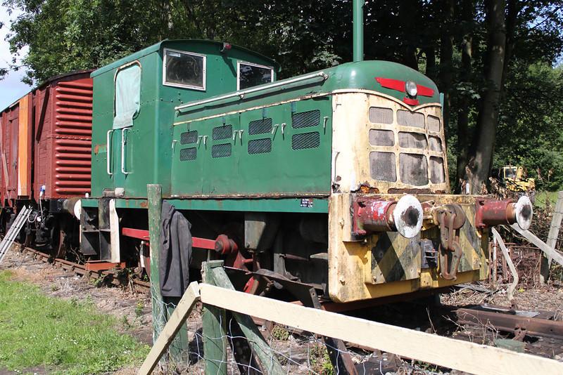 John Fowler & Co 0-4-0DM 416002 'Snowdon' at 'East Kent Railway,Shepherdswell'  24/07/11.