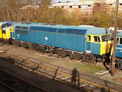 Class 56_56006 seen at Barrow Hill     22/11/08