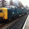 Class 55_55022/D9000 'Royal Scots Grey'    13/04/13