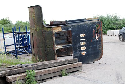 8F 2-8-0 48518 Cab at Barry Tourist Railway   14/06/14