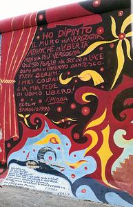East Side Gallery, East Berlin,  September 1990 27 SM