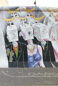 East Side Gallery, East Berlin, September  1990 4 SM