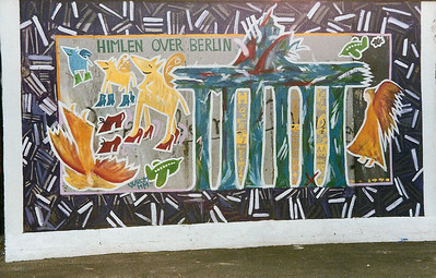East Side Gallery, East Berlin,  September 1990 24 SM