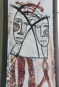 East Side Gallery, East Berlin,  September 1990 19 SM