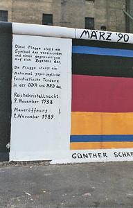 East Side Gallery, East Berlin,  September 1990 15 SM