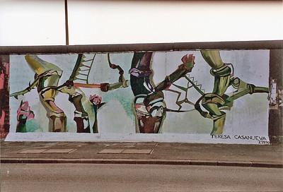 East Side Gallery, East Berlin,  September 1990 28 SM