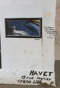 East Side Gallery, East Berlin,  September 1990 16 SM
