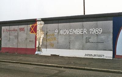 East Side Gallery, East Berlin,  September 1990 21 SM
