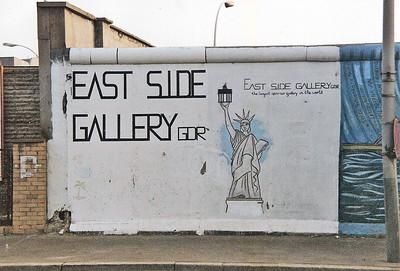 East Side Gallery, East Berlin,  September 1990 31 SM