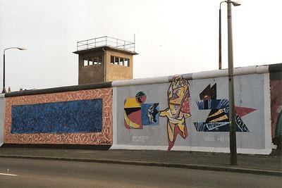 East Side Gallery, East Berlin,  September 1990 22 SM
