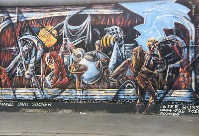 East Side Gallery, East Berlin,  September 1990 23 SM