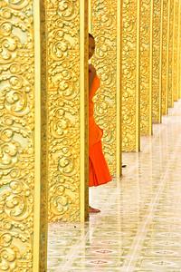 Hiding Monk