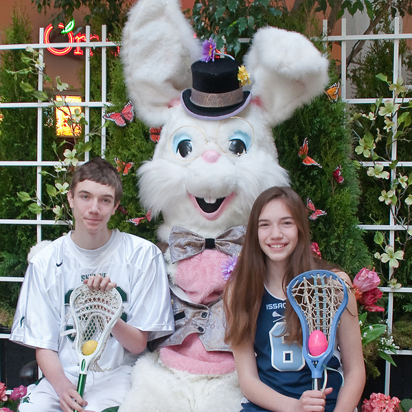 Sorta brings a new meaning to Easter egg toss.   <br /> <br /> Lacrosse, IT'S EVERYWHERE!!!!!