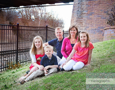 Family under Bridge crop (1 of 1)