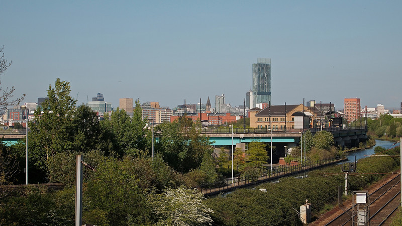 The Manchester skyline