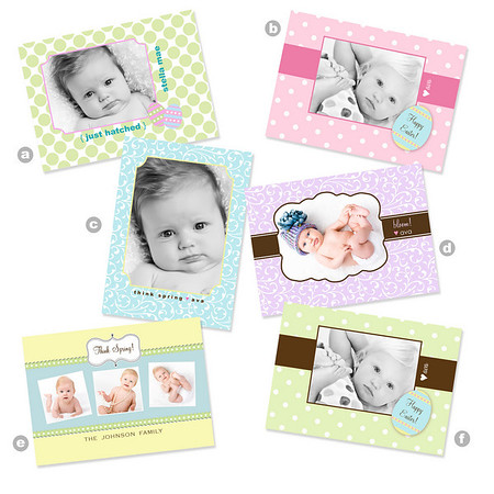 If you're looking for something special for your trendy tot, these darling mini-cards are sure to please!  Sold in sets of 48, these wallet-sized mini-cards are perfect for everyone from friends and family to classmates and teachers!  Each mini-card comes with a clear cellophane envelope that has enough room to add stickers or a treat if desired.  <br /> <br /> Please note that the sample templates shown in this gallery are provided to give you ideas when designing your card. However, one of the perks of working with a custom photographer is that any card you order will be fully customized for you and your individual design preferences. Or, if you don't see something you love here, let's design a card together! There are no costs for creating a new custom card design.<br /> <br /> You will have two rounds of complimentary card reviews where edits can be made to your card design prior to printing (additional reviews are $15 per round).  All cards are printed on professional photography paper with a matte finish.  <br /> <br /> Please reference your price sheet for pricing.