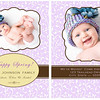 Show off your beautiful family in style with a custom holiday card from elizabeth grace photography! <br /> <br /> If you're looking for the ultimate in holiday greeting design, a tri-fold card is the way to go! Not only does a tri-fold design provide you with additional space for showing off your favorite images from your session (tri-fold card designs include six panels, where flat cards include two panels), you can opt to leave the back panel blank for personal notes for for family and friends. Most card designs in this gallery are shown as flat (two-sided) cards, however the majority of card designs can be easily converted to a tri-fold card if desired.  <br /> <br /> Please note that the sample templates shown in this gallery are provided to give you ideas when designing your card. However, one of the perks of working with a custom photographer is that any card you order will be fully customized for you and your individual design preferences. Or, if you don't see something you love here, let's design a card together! There are no costs for creating a new custom card design.  <br /> <br /> You will have two rounds of complimentary card reviews where edits can be made to your card design prior to printing (additional reviews are $15 per round). All cards are printed on fine linen paper and come with white envelopes. Custom return address labels can be created to perfectly coordinate with your chosen card - a wonderful finishing touch!  <br /> <br /> Please reference your price sheet for pricing and minimum orders on cards.
