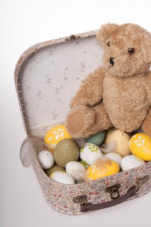 Easter teddies