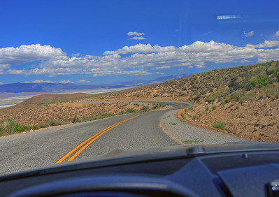 Lubken Canyon Road outside Lone Pine.