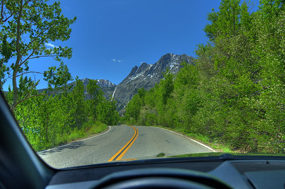 June Lake loop road