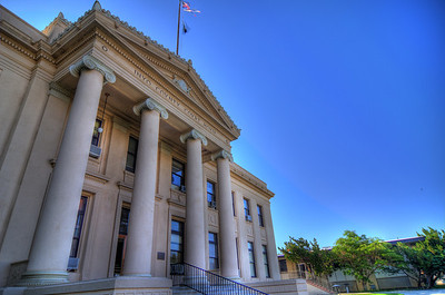 Courthouse in Independence, CA