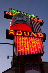 Merry Go Round restaurant in Lone Pine.