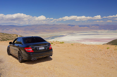 Above Owens Dry Lake south of Lone Pine, CA.