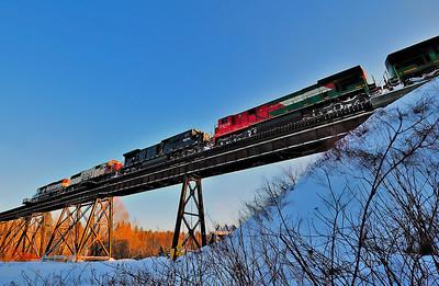 Montreal Maine & Atalntic, Crude Oil #606, Eastman Qc
