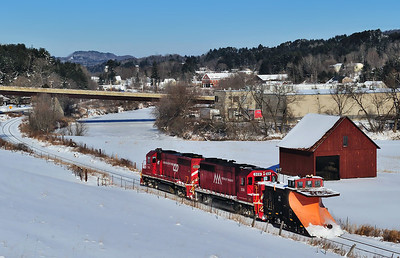 Vermont Railway (WACR), Plow Extra, St. Johnsbury Center, Vt