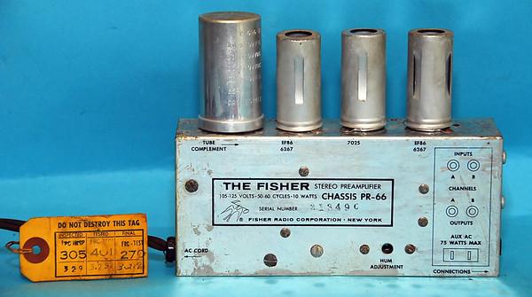 Fisher Preamp PR-66