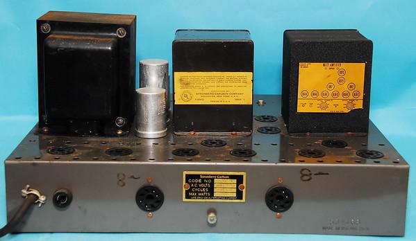 Stromberg Carlson Stereo 6L6 Power Amp