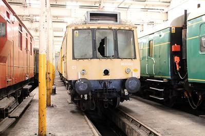 Class 121 DMU 960303/977976 (55031) seen at Barry Tourist Railway   14/06/14